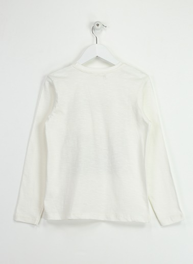 Asymmetry Sweatshirt Ekru